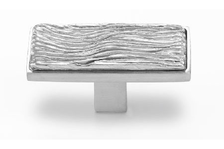 Textured Solid Pewter Cabinet Handle - 138