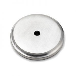 Mood 085 Solid Satin Pewter Finish Base Plate